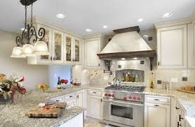 amusing white kitchen cabinets with granite ideas
