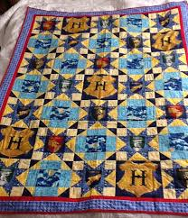 Quilt number one. Harry Potter quilt. years ago I found the ... & Quilt number one. Harry Potter quilt. years ago I found the fabrics. I Adamdwight.com