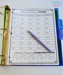Guided Reading Binder For Upper Elementary Free Forms