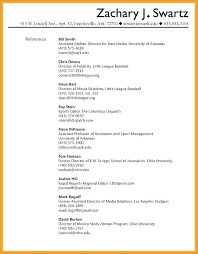 Example Of Reference Reference Resume Example Mmventures Co