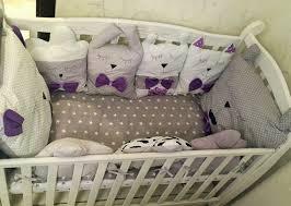 linen bedding set baby shower animal