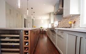 image of modern kitchen island lighting design