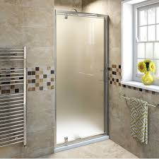 privacy glass shower doors