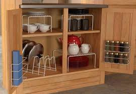 Storage For A Small Kitchen Cool Cabinet Storage Racks For Small Kitchen 4539 Baytownkitchen