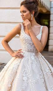 31 flattering scoop neckline wedding dresses weddingomania