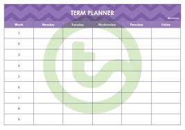 Teacher Weekly Planners Create Your Own Teacher Planner Using Printable Templates