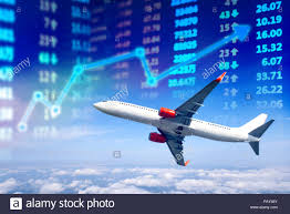 Travel Business Stock Market Chart Stock Market Data With