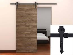 sliding door hardware. Amazon.com: TMS TSQ08-Dark Modern American Style Barn Wood Sliding Door Hardware Closet Set, Black: Home Improvement