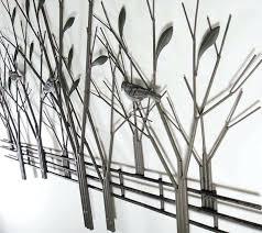 tree sculpture wall art metal tree sculpture wall decor festooning wall painting metal tree wall art