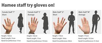 how to measure hand size for gloves strapya world gloves collection