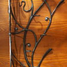 artistic furniture. A Hand Wrought Iron Hanger - Artistic Furniture G