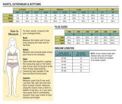 Carhartt Sweatshirt Size Chart Carhartt Size Charts Genpac Apparel