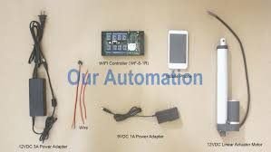 life application our automation linear actuator wires material our automation