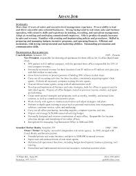 Resume Sample For Real Estate Agent Resume Sample For Real Estate