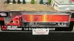 Details About Dcp 33699 Crete Carrier Trucking 50th Ann Fl Cascadia Dry Van Trailer 1 64 Cl