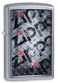 <b>Зажигалка Zippo Diamond</b> с покрытием Street Chrome™, 29838 ...