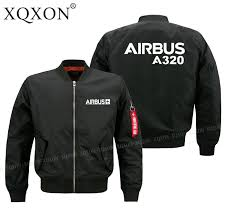 Jacket Design Us 28 0 35 Off Xqxon 2020 New Design Airbus A320 Design Men Coats Jackets High Quality Men Pilot Jacket Customizable J716 In Jackets From Mens