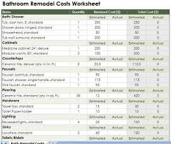 Bathroom Renovation Cost Estimator
