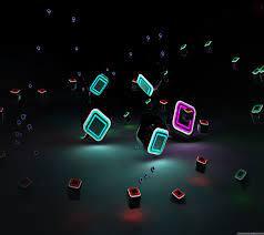 3D Effect backgrounds 1440x1280 Galaxy ...