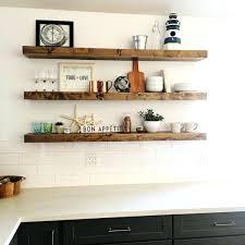wood floating shelves reclaimed set walmart lowes