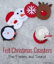 418 Best Christmas Crafts For Kids Images On Pinterest  Christmas Easy Christmas Felt Crafts