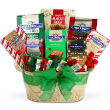 ghirardelli chocolate holiday wishes gift basket imagerjs