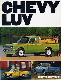 the cars family on the web part  1977 chevy luv advertisment