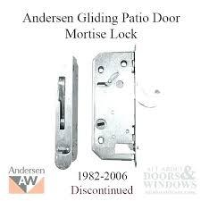 andersen patio door lock sliding door lock old style deadlock gliding patio door gliding door lock