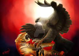 Foto hd elang vs harimau : Gambar Elang Vs Harimau