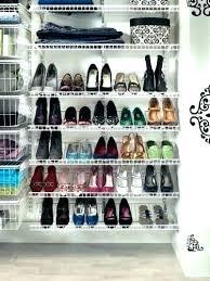 walk in closet shoe rack walk in closet shoe rack medium size of storage best ideas