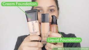 image led apply foundation and powder step 21