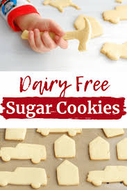 cut out dairy free sugar cookies
