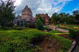 Disney Landscape Design Picture Florida Usa Disney World Epcot Orlando Nature