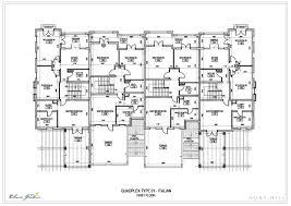 Smart Design 1 Row House Plans Narrow Lots Quadplex Plans Lot F Quadplex Plans