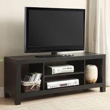 black oak tv console table for tvs up to 42