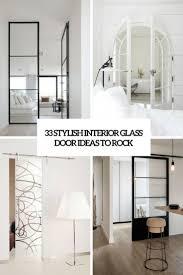 interior glass doors. 33 Stylish Interior Glass Doors Ideas To Rock