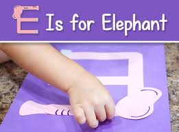 Free Craft Printables Templates Printable Letter E Craft E Is For Elephant Free Download
