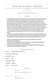 Call Center Agent Resume samples