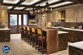 Rustic Design Fargo See This Rustic Best Of Show Dream Kitchen By Pat Conner