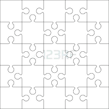 Blank Puzzle Templates Jigsaw Design Template Pdf Pieces – Davidpowers