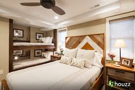 bunk bed lighting. Mountain Style Guest Bedroom Photo In Other With Beige Walls Bunk Bed Lighting
