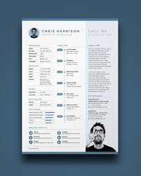 best cv template one page resume template psd one page resume templates best resume