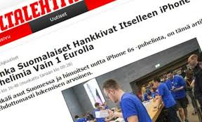 osta iphone eurolla