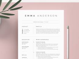 Word Resume Cover Letter By Resume Templates On Dribbble