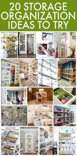 20 storage organization ideas