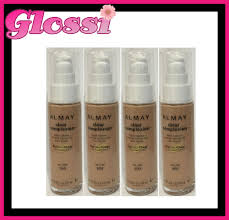 4 x almay clear plexion pump makeup foundation 900 tan glossi australia ebay