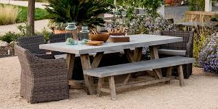 concrete outdoor furniture a stylish