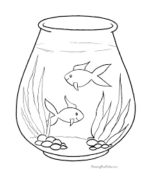 Free Fish Coloring Pages For Kid 013