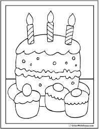 Small Picture 40 Cupcake Coloring Pages Customize PDF Printables