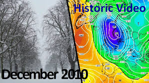 Charts December 2010 Historic Weather December 2010